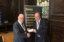 Old Friends donates £1,000 to BOSS charity