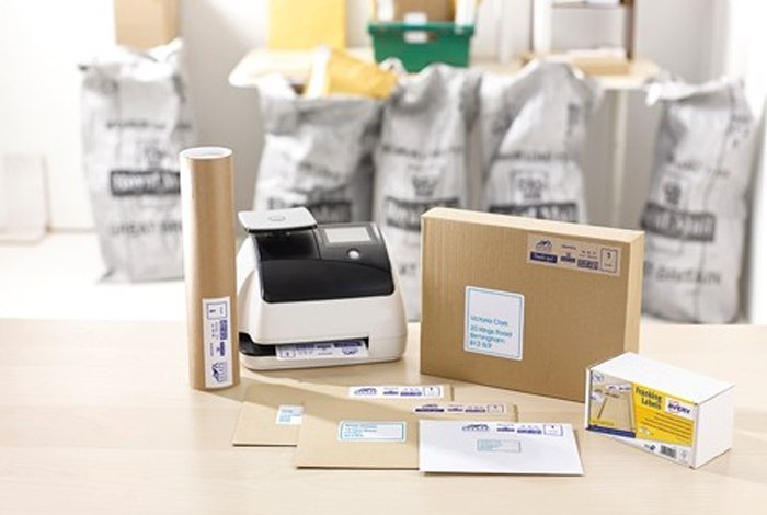 Avery – Franking label range