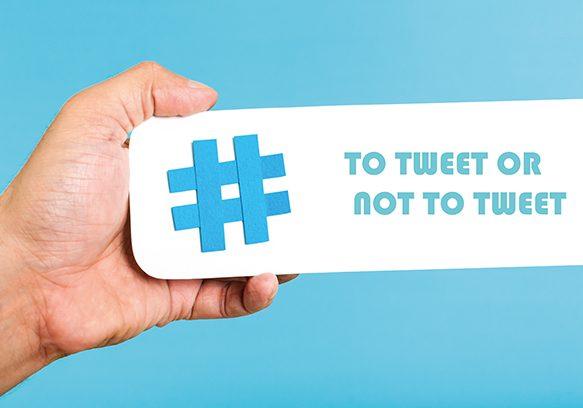 To tweet or not to tweet 610